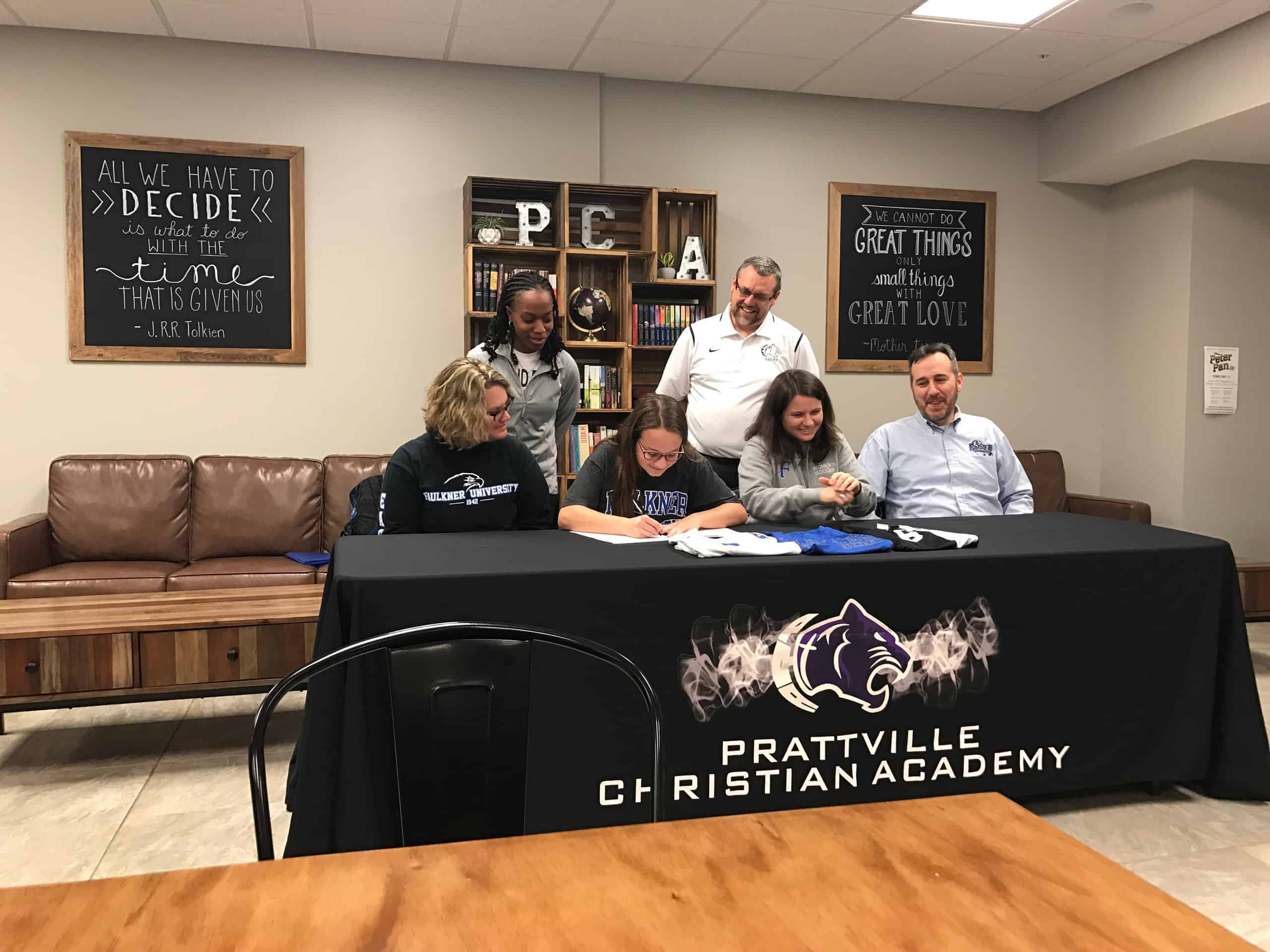 PCA's Hannah Rousseau Signs Soccer Scholarship – Welcome to